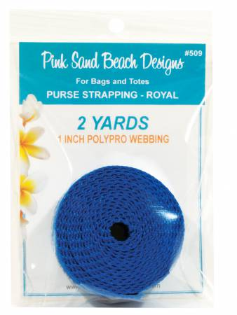 1 inch - Purse Strapping - Royal