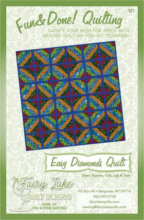 Fun & Done Easy Diamonds Quilt