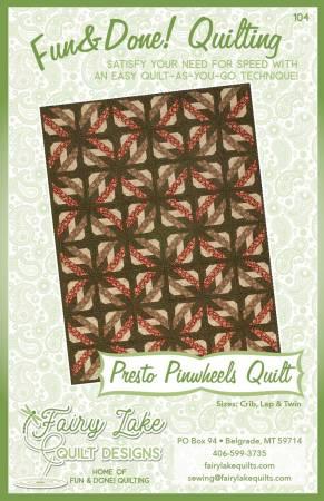 Fun & Done Presto Pinwheels Pattern