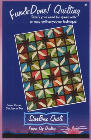 Fun & Done - Star Box Quilt