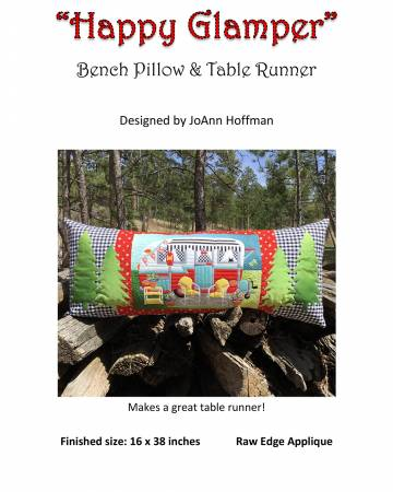 Happy Glamper Bench Pillow Pattern