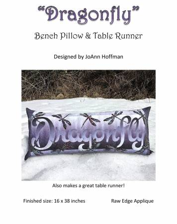 Dragonfly Bench Pillow Kit