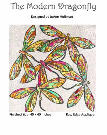 Modern Dragonfly raw edge