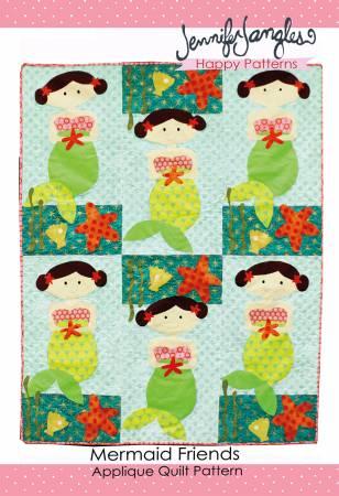 Mermaid Friends Applique Quilt Pattern