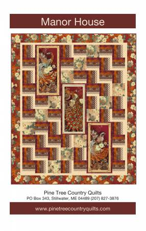 Manor House - Pine Tree Country Quilts - PT1633