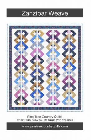 Zanzibar Weave - PIne Tree Country Quilts - PT1713