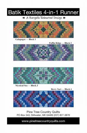 Batik Textiles 4-in-1 Runner