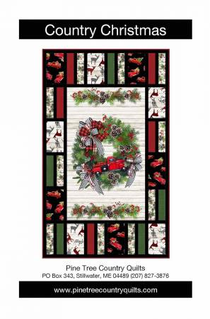 Country Christmas Panel Pattern