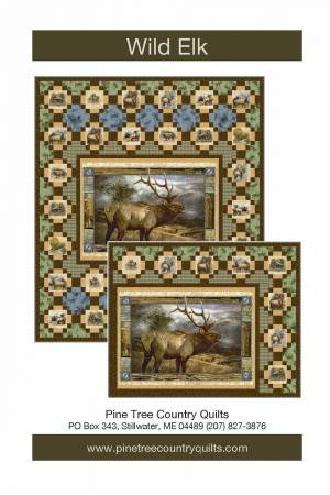 Pine Tree Country Quilts Wild Elk Pattern