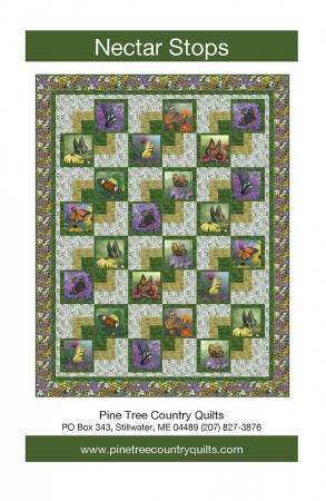 Butterfly Meadow/Nectar Stops Quilt Kit