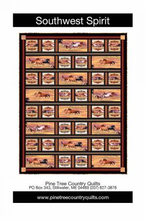 Southwest Spirit - Pine Tree Country Quilts - PT1908