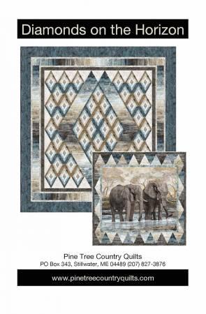 Diamonds on the Horizon Quilt Pattern