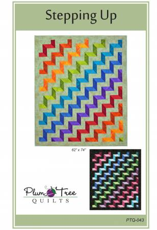 Stepping Up Quilt Pattern by Plum Tree Quilts