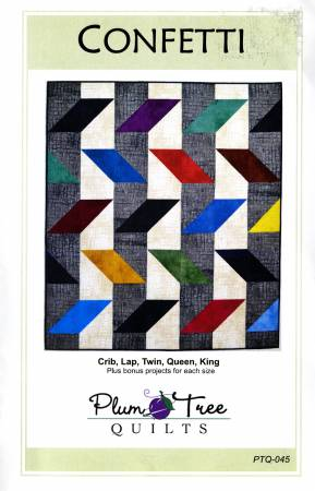Confetti Quilt Pattern by Plum Tree Quilts