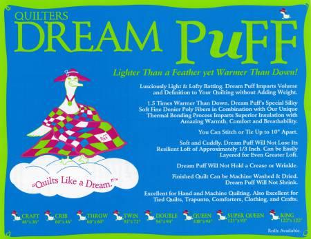 Dream Puff 93 x 72 Twin
