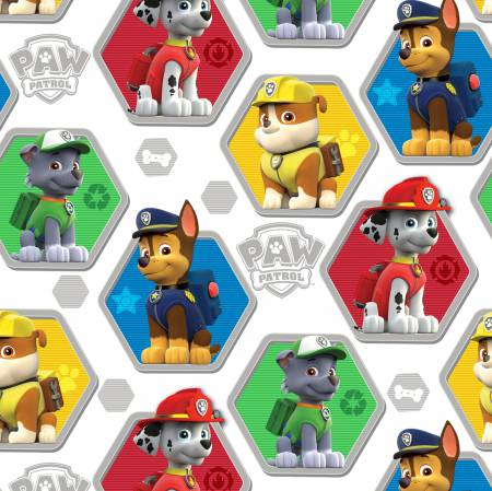 White/Multi Paw Patrol Rescue