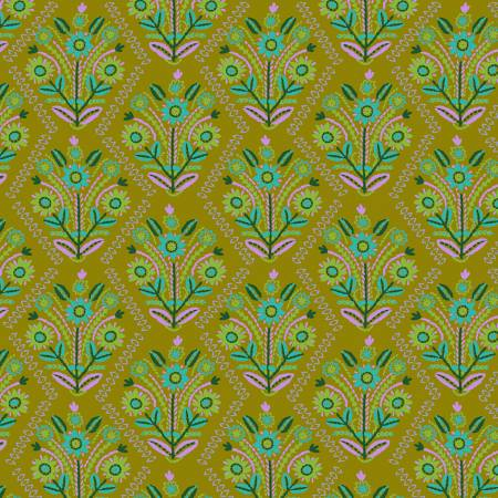 PWAH140 Meadow Stitchery by Anna Maria Horner for FreeSpirit Fabrics. 100% cotton 43 wide