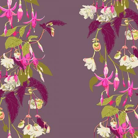 Anna Maria Horner English Summer Name Drop Fuchsia