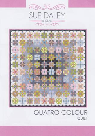 Sue Daley Designs - Quatro Colour Quilt Set