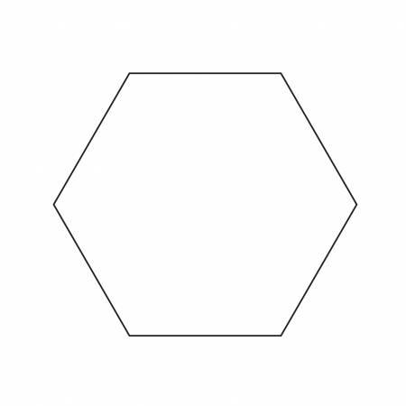 3in hexagon Template