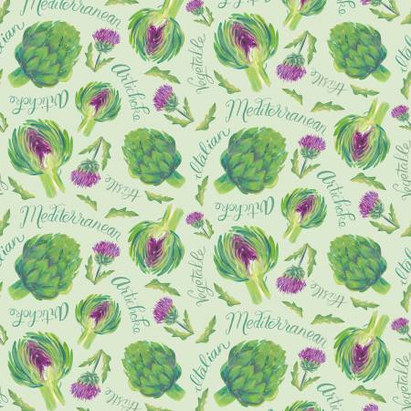 Green Artichoke Garden