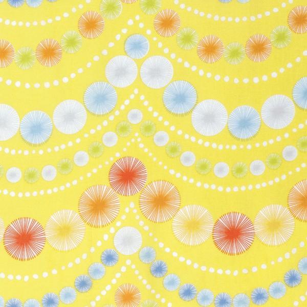 Yellow Pom Pom Garland