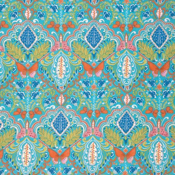Butterfly Garden -  Medallion PWDF224.AQUAX