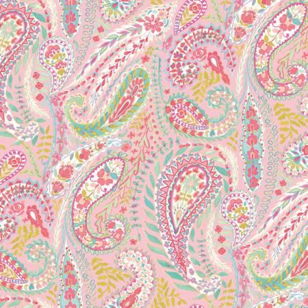 Lotus Gypsy - pink paisley