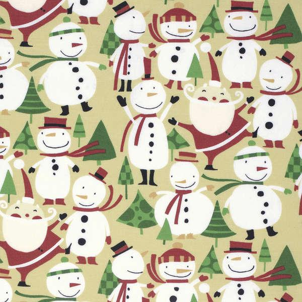 Nutmeg Merry Snowmen
