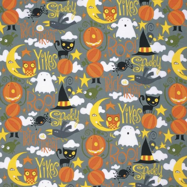 Free Spirit Spooky Boo Halloween Ghost Spider Cat