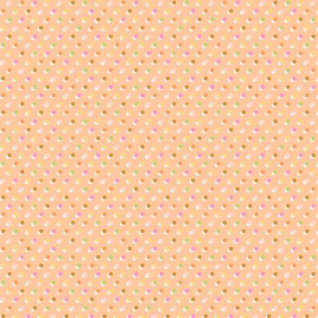 Peach Glow Dots PWEM104.PEACH