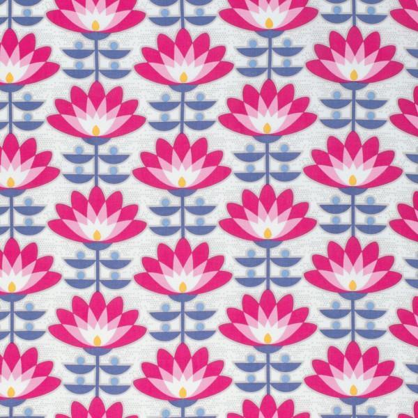 Atrium- Deco Bloom Fuchsia