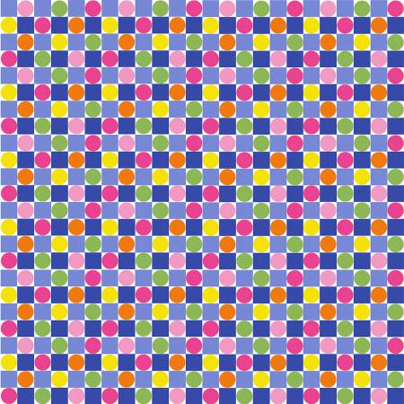 Spring Fever - Checkerboard - Rainbow