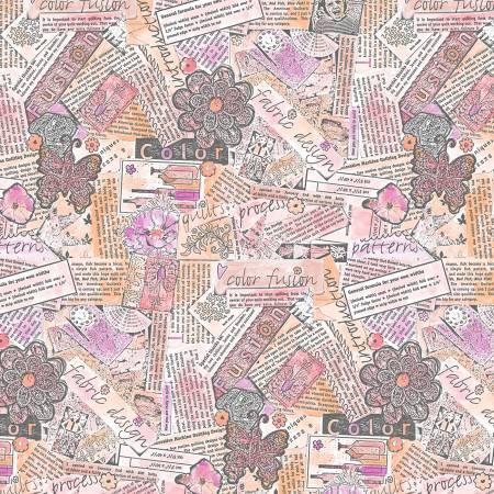 Free Spirit - Collage - PWLH015.PINK