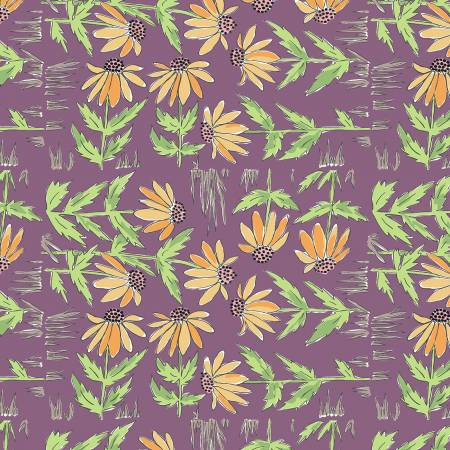 Freespirit Daisy - Plum
