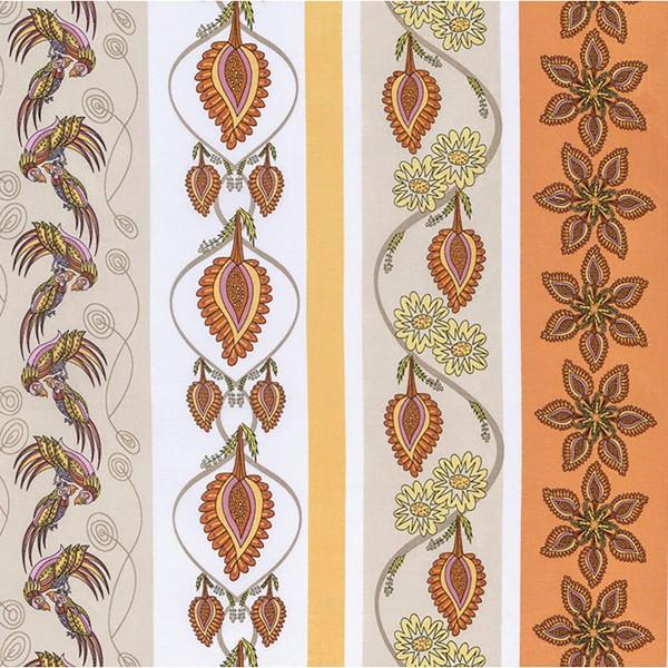 Flock Together by Kathy DoughtyDecorative Stripe Traditional