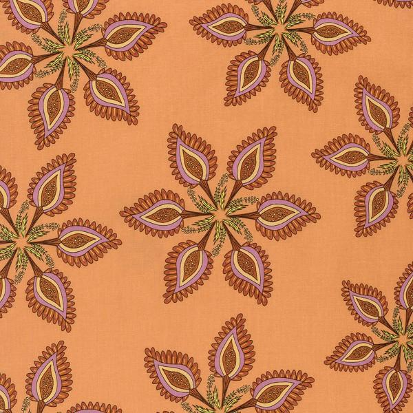 Traditional Paisley Flower