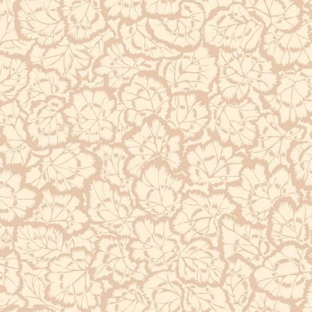 English Garden - Pelargonium Leaves - Cream