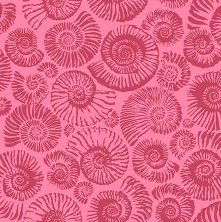 Free Spirit Ammonites Pink