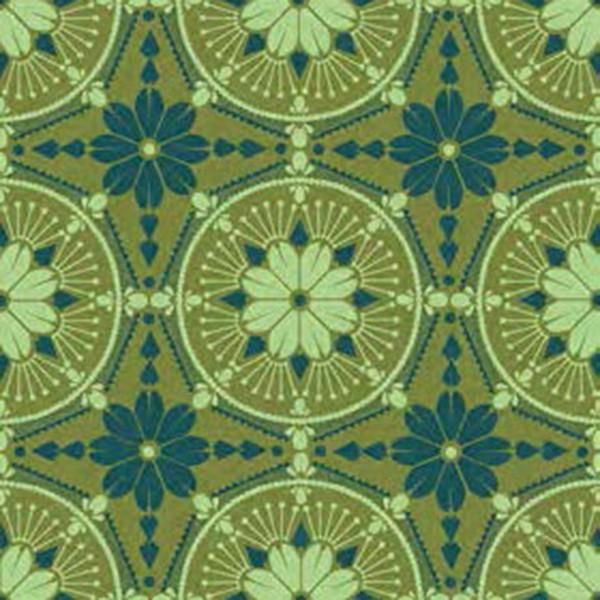 Anna Maria Horner True Colors in Emerald Medallion