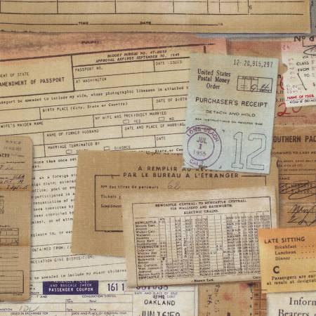 Tim Holtz Eclectic Elements - Neutral Letter/Postcards