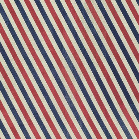 Red Postal Stripes