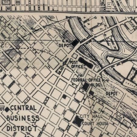ECLEC- 056 Dapper Street Maps Black