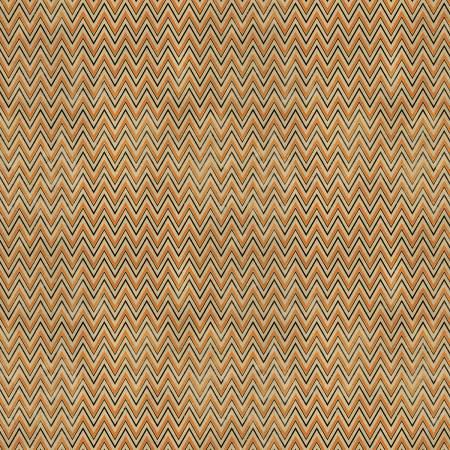 Free Spirit Tim Holtz Orange Zig Zag Halloween Cotton Fabric