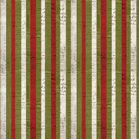 Materialize - Multi Christmas Stripe Christmas