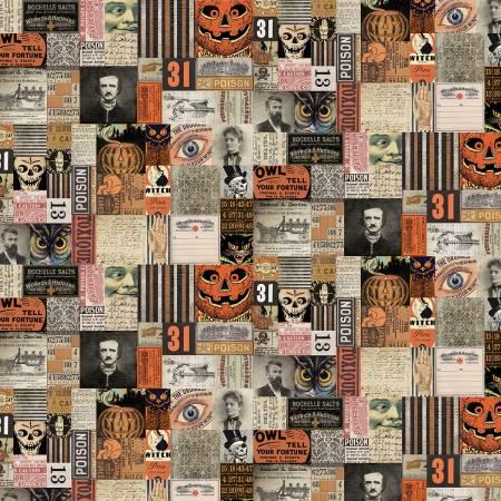 Free Spirit Tim Holtz 31st Halloween Cotton Fabric
