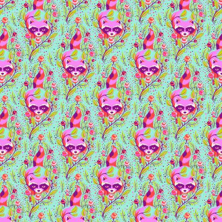 Free Spirit Tula Pink Poppy Raccoon All Stars