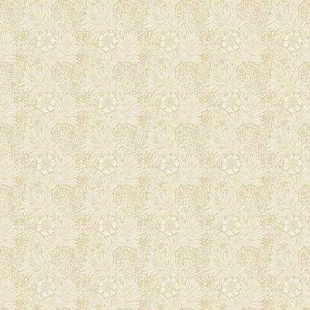 Free Spirit - Morris & Co - Tan Marigold Fabric