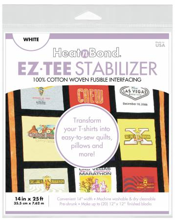 HeatnBond EZ Tee Stabilizer WHITE 14 x 25ft - Q2171