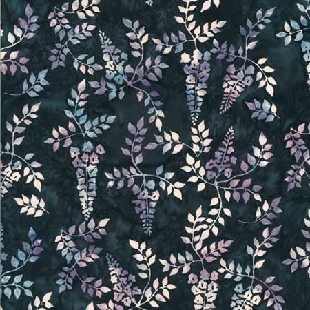 Vines, Batik, Liquorice Lavender